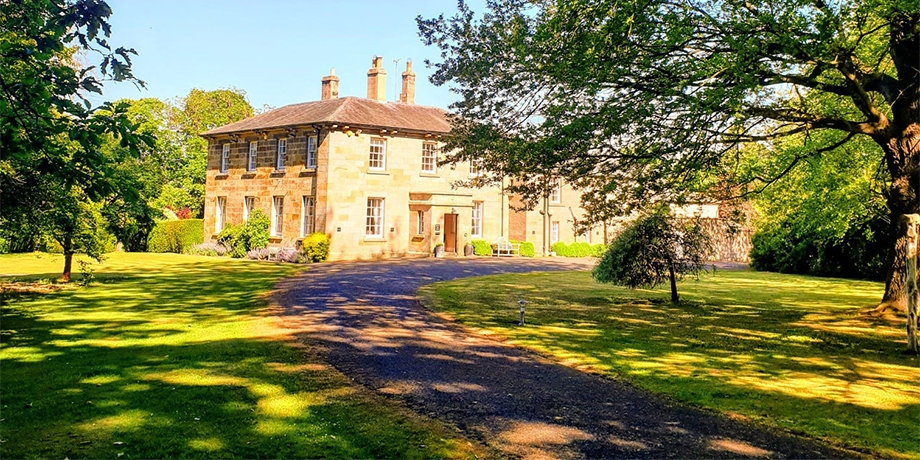 Chatton Park B&B is set in beautiful grounds near Alnwick