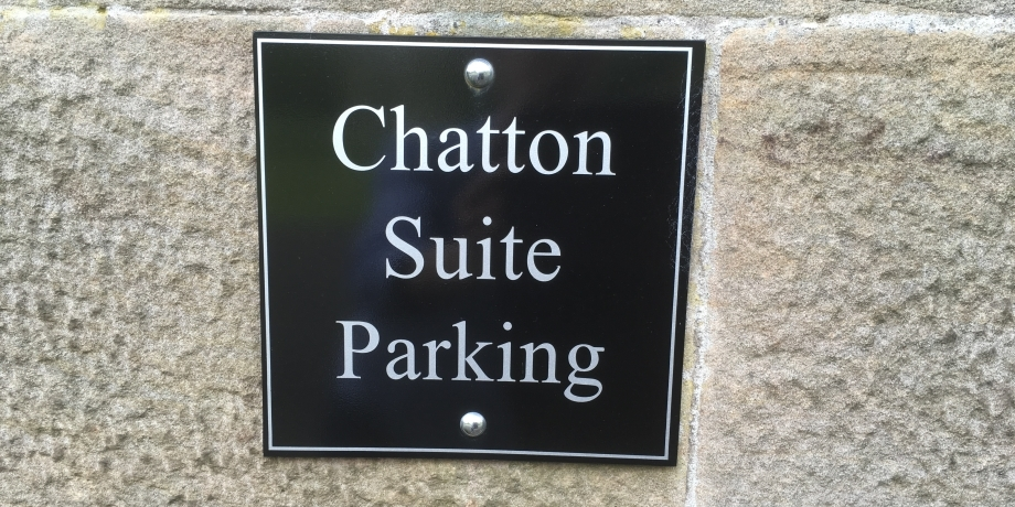 Chatton Suite parking