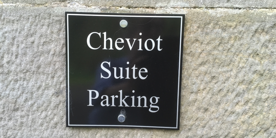 Cheviot Suite parking