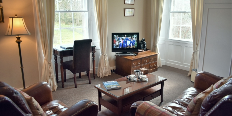 Chatton Suite lounge at Chatton House B&B Alnwick